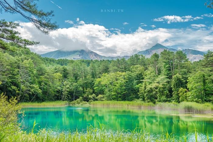 福島旅遊:五色沼 夢幻多色的磐梯火山湖沼,步行路線、交通巴士與自駕開車