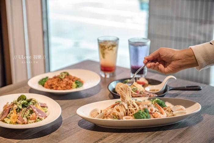 台北聚餐:Ulove羽樂歐陸創意料理,好吃東方老酒海鮮麵與燉飯,生日慶生、約會聊天推薦餐廳