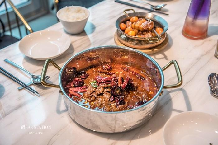 台北美食:飯BAR STATION微風信義店,時髦中餐廳聚餐滿足所有人,美味限定菜、現做提拉米蘇