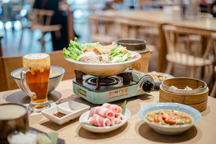 台中有春茶館大智店-茶館聚餐嚐經典台菜,白帶魚芋頭米粉鍋一人也能吃!再來杏仁凍四季春茶