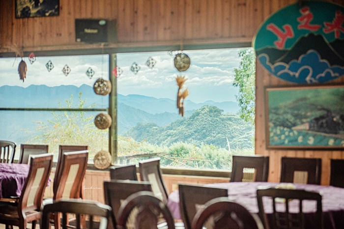 嘉義阿里山:山之美風味館 連綿山脈窗景佐鄒族風味餐、阿里山咖啡