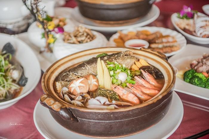 澎湖美食:聚味軒海鮮中餐廳 值得一嚐的鮮甜好吃海鮮料理,大推砂鍋海鮮粥、澎湖高麗菜酸龍虎斑