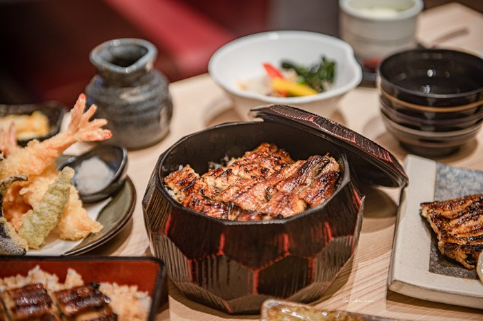 台北中山:江戶川鰻魚飯 日本60年鰻魚飯老店來台,老蒲燒醬汁鰻魚飯三種吃法回味日本的思念