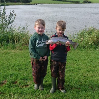 BAC Junior Anglers at the Corbet Junior Cup competition on 19 August 2017