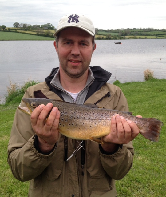 BAC Roger McClements Corbet Lough Brown Trout 17 May 2016