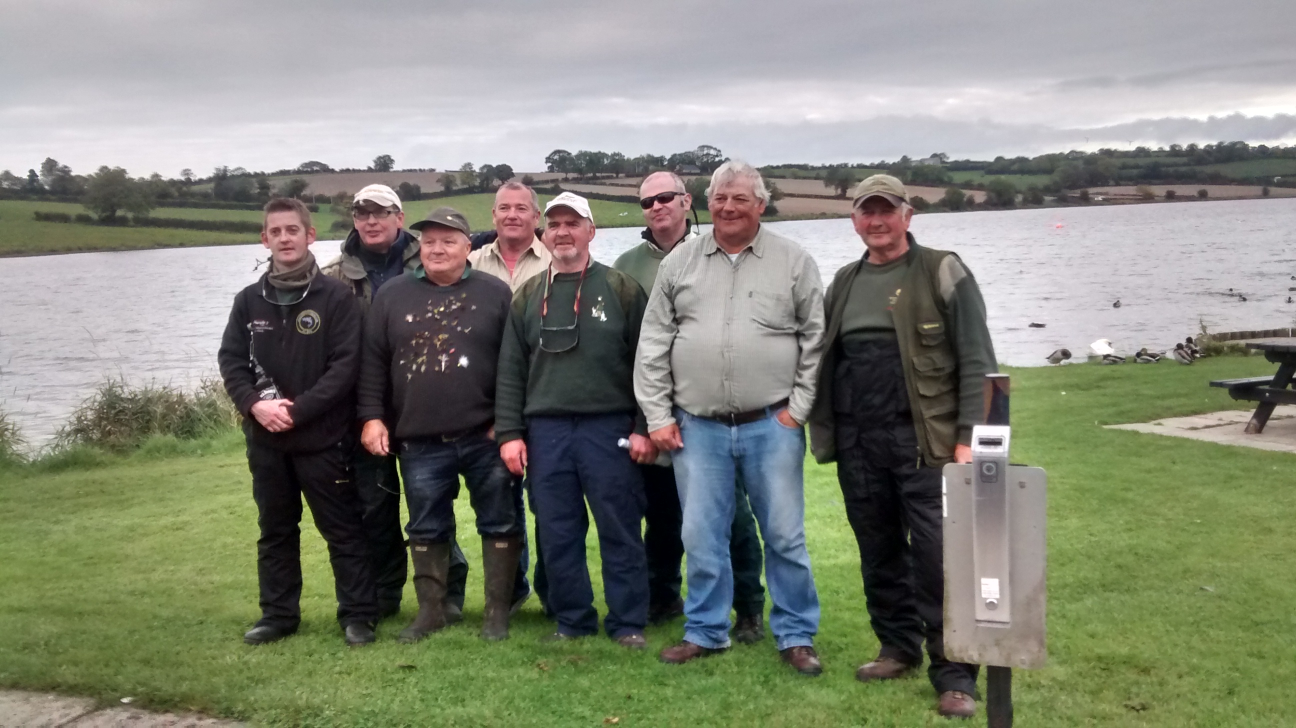 BAC Freddie Steele and friends at Corbet Lough October 2015