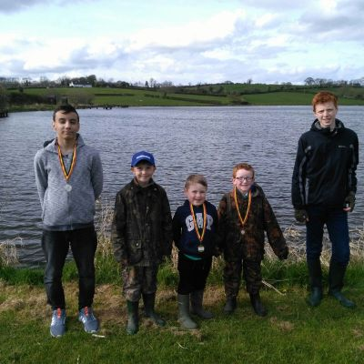 BAC Junior Anglers The SH&SCT Cup at Corbet Lough 1 April 2017