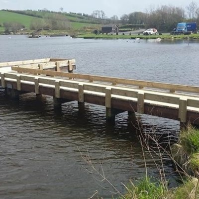 BAC Refurbished Fishing Stand at Corbet Lough April 2018