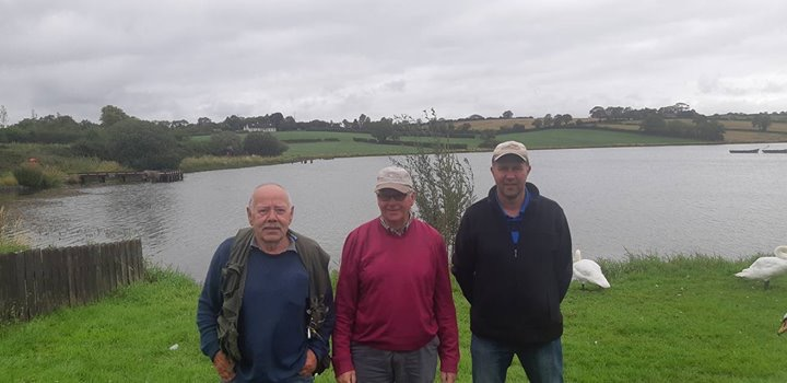 BAC The Linda Clinghan Shield at Corbet Lough on 11 August 2018 - Dan Tumilty 3rd, Henry McKnight 2nd and Roger McClements 1st
