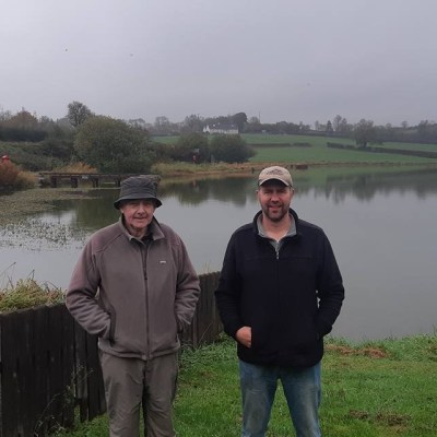 BAC Toasty Jardine Shield at Corbet Lough on 13 October 2018 - Sam Grant 2nd and Roger McClements 1st