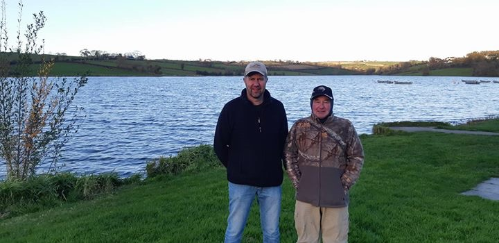 BAC Hanlon Cup at Corbet Lough on 27 October 2018 Roger McClements 1st and Noel Burns 3rd1