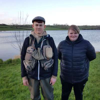 BAC McComb Cup Corbet Lough 2 March 2019 - Juvenile anglers