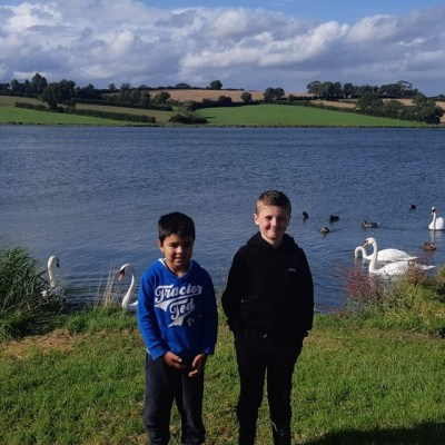 BAC - A couple of Junior Anglers who fished in the Corbet Cup competition at the Corbet Lough on Saturday 17 August 2019