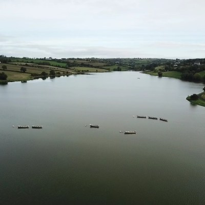 BAC - Ariel photograph of Corbet Lough on 2 October 2019 - Photograph courtesy of Chris Wolfe (taken by drone)