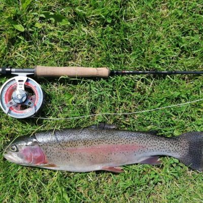 BAC - A beautiful Rainbow caught by Derek Curran at the Corbet Lough on 20 June 2020