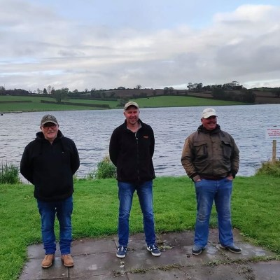 BAC - The Hanlon Cup at Corbet Lough on 10 October 2020 Wilson Clinghan 1st, Roger McClements 2nd and Leonard Ervine 3rd