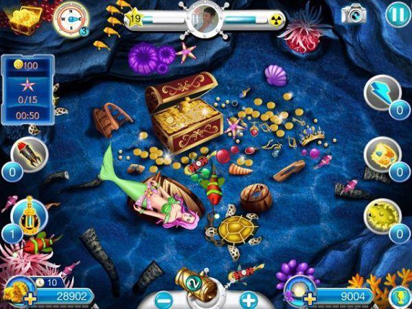 Sở hữu số vàng khủng cùng game bắn cá hack full vàng