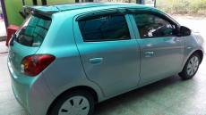 Mitsubishi hatchback for rent Ban Chang