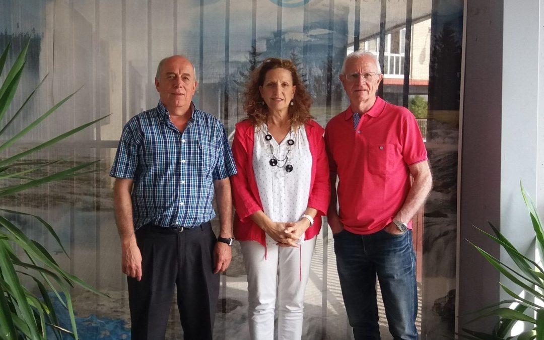 Firma del acuerdo de colaboración con AFOGASCA (Asociación empresarial de instaladores y mantenedores de Álava)