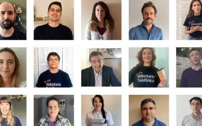 Empleados de Telefónica destinan sus cheques comida a los Bancos de Alimentos