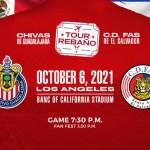 Chivas De Guadalajara & C.D. FAS To Meet At Banc Of California Stadium October 6 💥👩👩💥