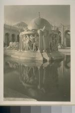 "[""Fountain of the Earth"", Court of Abundance (Louis Christian Mullgardt, architect).]. Courtesy of The Bancroft Library, University of California, Berkeley Online"