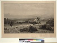 Bierstadt, Albert. Last of the buffalo (1891). BANC PIC 1963.002:0768--FR. Courtesy of The Bancroft Library, University of California, Berkeley ONLINE