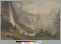 Bierstadt, Albert.Yosemite Valley, California (18--). BANC PIC 1963.002:0404--E. Courtesy of The Bancroft Library, University of California, Berkeley ONLINE
