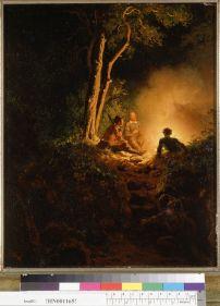 Nahl, Charles Christian. Indian ambush (1870). BANC PIC 1963.002:1519--FR. Courtesy of The Bancroft Library, University of California, Berkeley Online