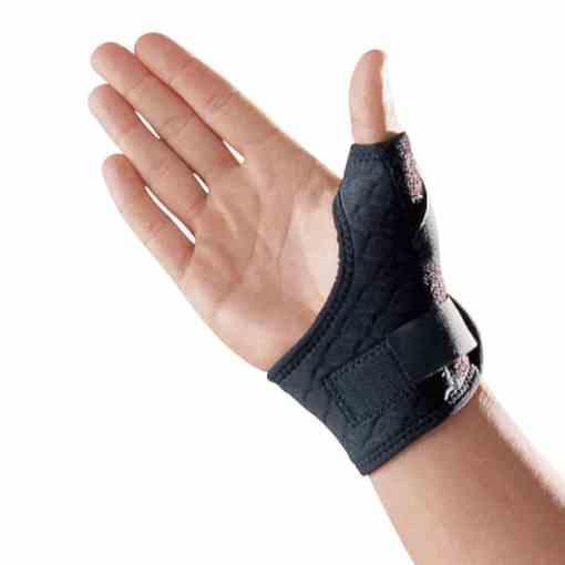 Tommelfingerbandage med skinne og elastikstrop   LP-563CA