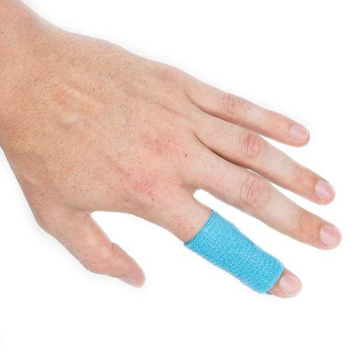 bandage cohesive sportstape blå