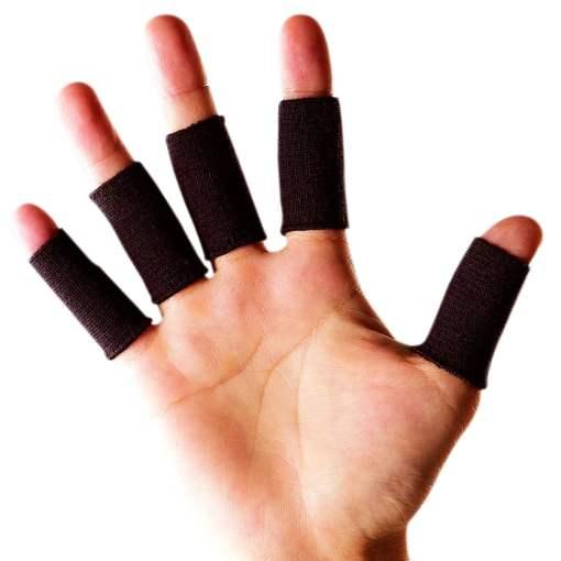 fingerstøtte & fingerbandage