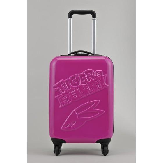 TIGER & BUNNY スーツケースH54cm BUNNY(ローズ) アニメ・キャラクターグッズ新作情報・予約開始速報