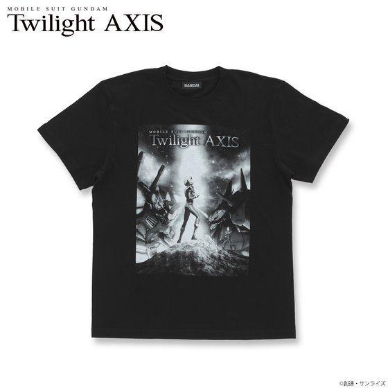 機動戦士ガンダム Twilight AXIS キービジュアル Tシャツ アニメ・キャラクターグッズ新作情報・予約開始速報