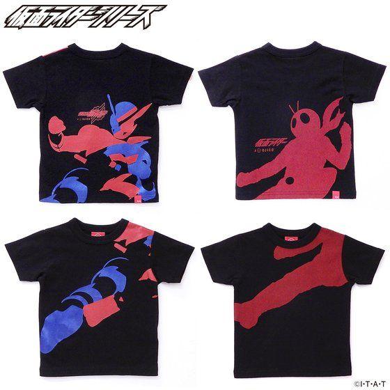 OJICO×仮面ライダー コラボレーションTシャツ サイズ10A アニメ・キャラクターグッズ新作情報・予約開始速報