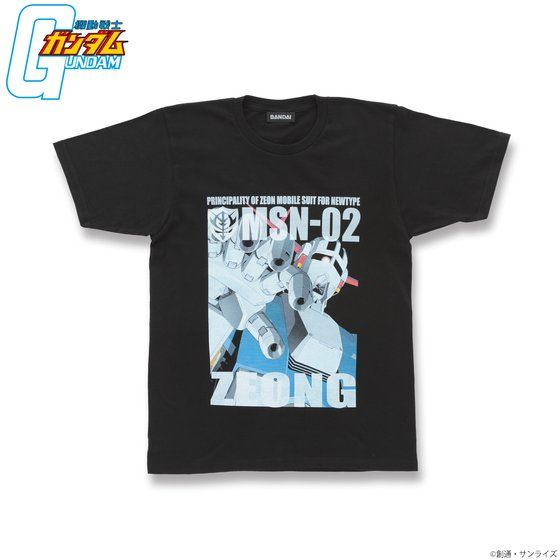 機動戦士ガンダム フルカラー Tシャツ MSN-02 ジオング アニメ・キャラクターグッズ新作情報・予約開始速報