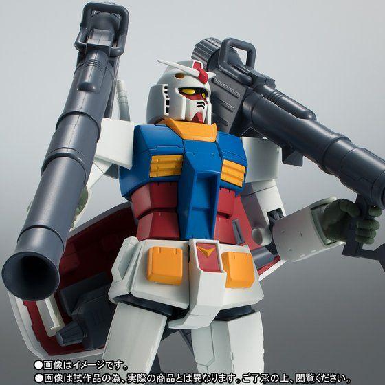 ROBOT魂 〈SIDE MS〉 RX-78-2 ガンダム ver. A.N.I.M.E. 〜最終決戦仕様〜 アニメ・キャラクターグッズ新作情報・予約開始速報