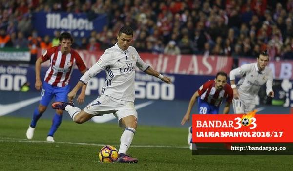Cristiano Ronaldo Real Madrid 3-0 Atletico Madrid La Liga 2016