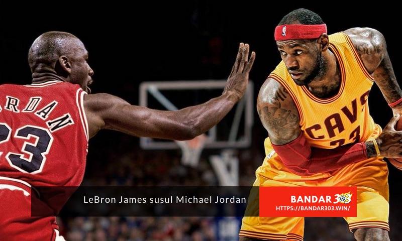 LeBron James Michael Jordan NBA