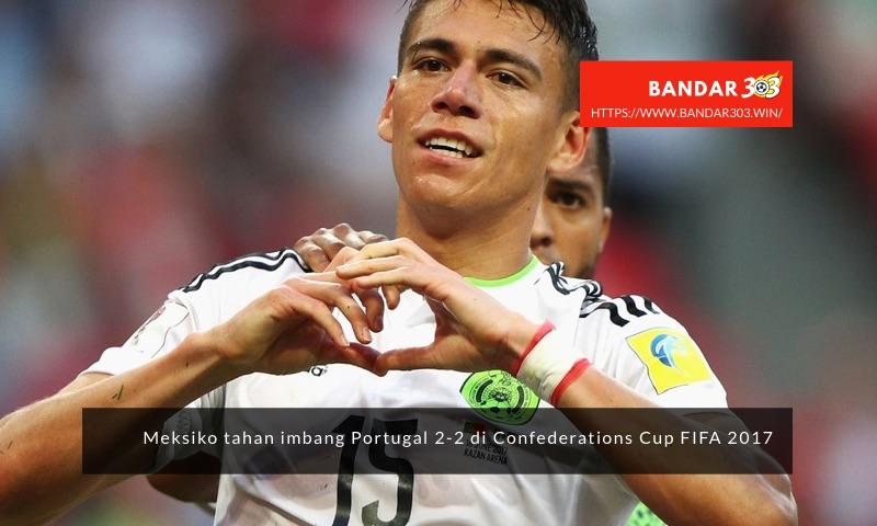 Hector Moreno Meksiko 2-2 Portugal Confederations Cup 2017