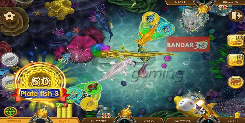 Interface Tembak Ikan Online