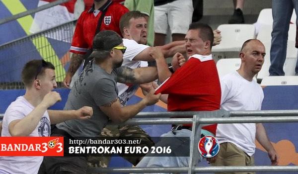 Bentrokan Inggris Russia Euro 2016