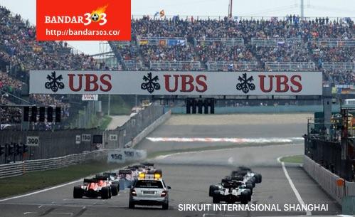 Starting Grid Sirkuit Internasional Shanghai