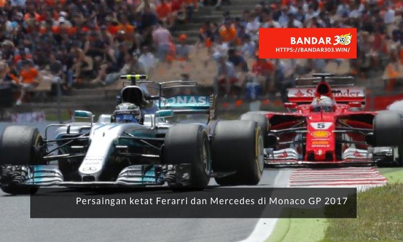 Ferarri Mercedes Monaco GP