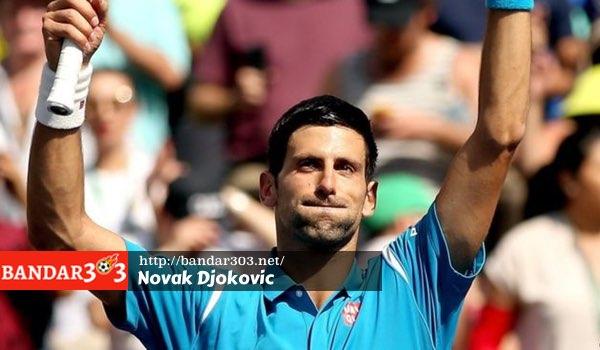 Novak Djokovic peringkat satu