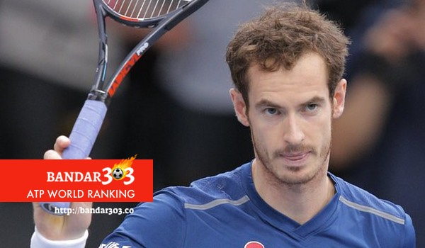Andy Murray ATP World Paris Masters
