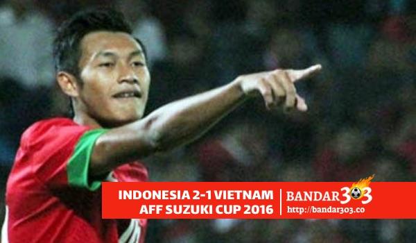 Hansamu Yana Pranata cetak gol pertama AFF Suzuki Cup