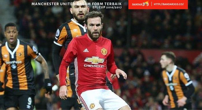 Juan Mata Manchester United Hull Cituy EFL Cup