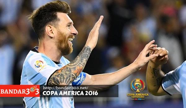 Lionel Messi Hat trick Argentina Copa America