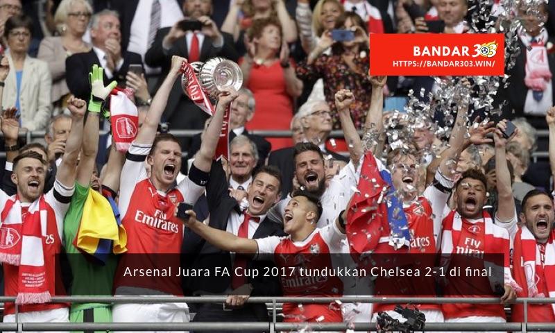 Arsenal juara FA Cup 2017